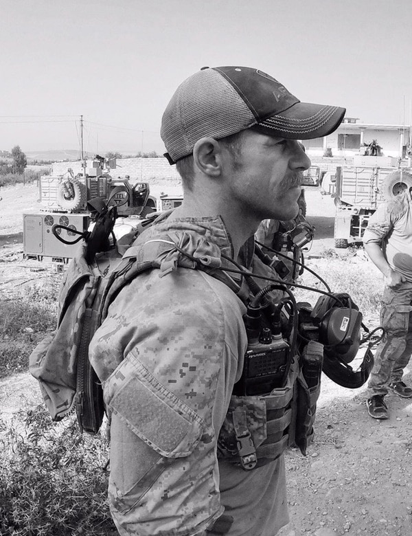 "Special Warfare Operator Chief Edward ""Eddie"" Gallagher in Iraq in 2017. (courtesy photo)"