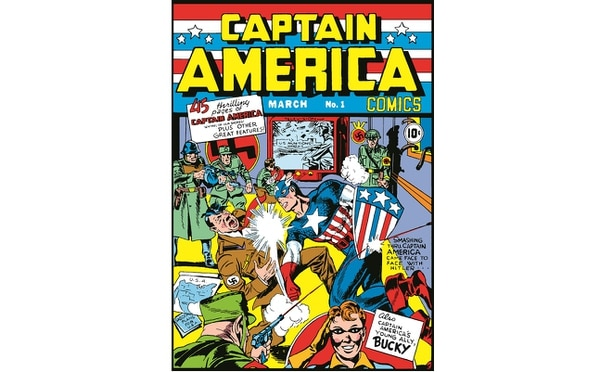 Captain America's March 1941 debut issue — price 10 cents. (Marvel Entertainment via Army)