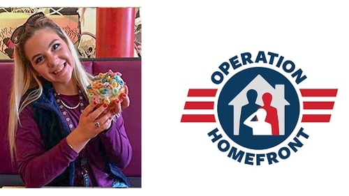 Rebekah Paxton, Operation Homefront's 2018 Military Child of the Year representing the Army (Courtesy of Operation Homefront)