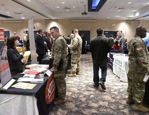 A new survey finds that veterans are largely employed after leaving the military but can face health issues. (Mike Strasser/Fort Drum Garrison Public Affairs)