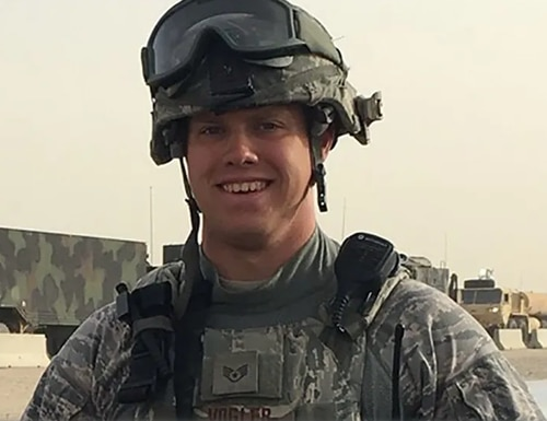 Tech. Sgt. Nicholas A. Vogler's death is currently under investigation. (Air Force)