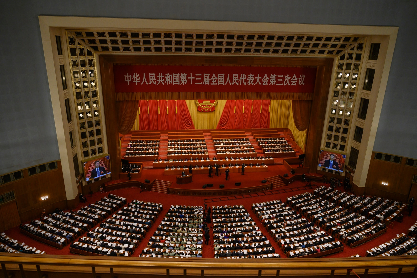 China this year had five firms in the top 15 companies versus six last year. (Kevin Frayer/Getty Images)