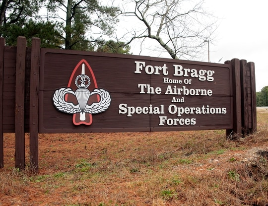 A Fort Bragg, N.C. soldier died in a traffic accident Thursday morning, and two others were injured. (Chris Seward/AP)