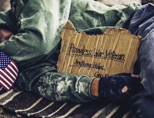A program with a proven track record to help homeless veterans is being under-utilized and Congress wants to know why. (Getty Images)