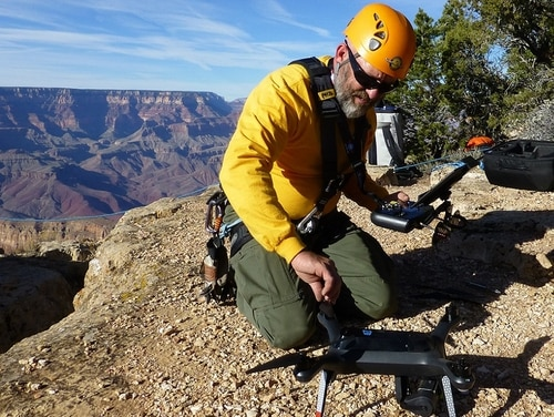 Unmanned aerial system programs at NPS are still in early stages, according to officials, but they already show great promise. (Courtesy National Park Service)