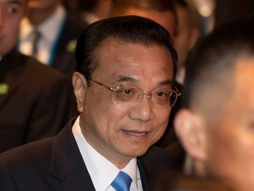 On Sunday, Chinese Premier Li Keqiang participated in the ASEAN-China summit in Nonthaburi, Thailand. Li renewed a call for progress toward a code of conduct among South China Sea disputants, despite long delays and skepticism from the United States. (Gemunu Amarasinghe/AP)