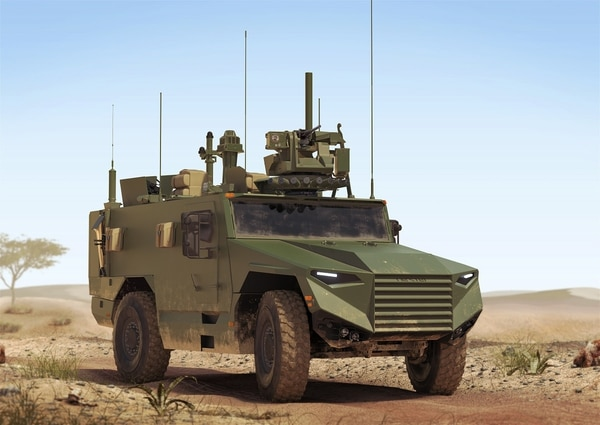 An artist's rendering of the Light VBMR. (Nexter)