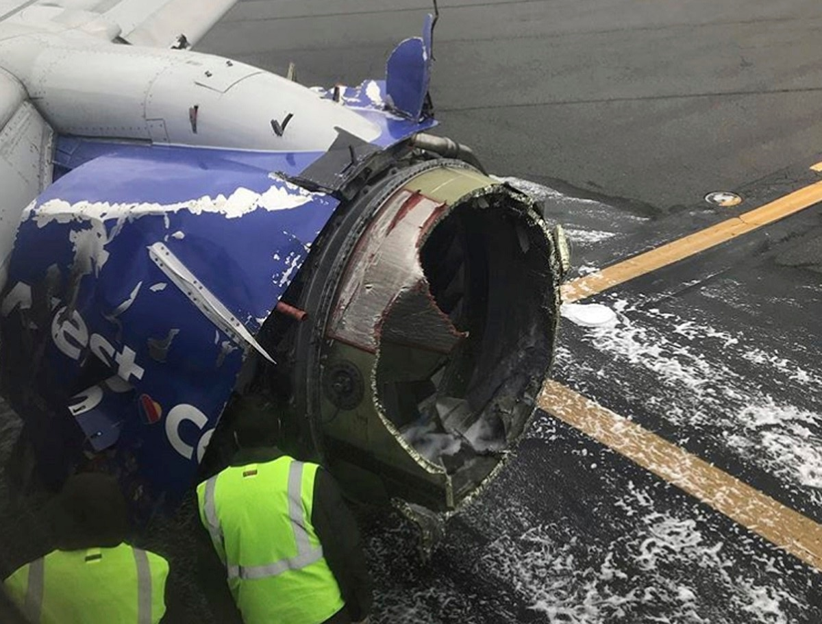 FAA orders more engine inspections after Southwest accident