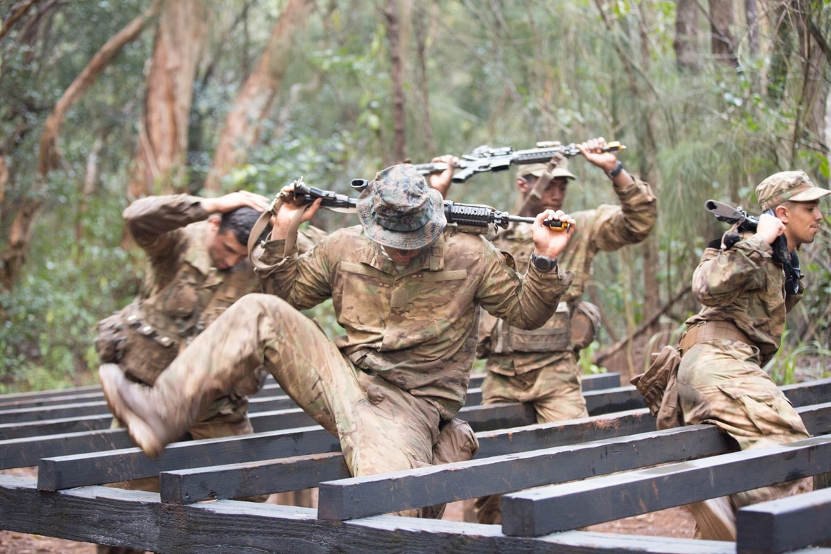 9ec918f31 Soldiers wear new tropical uniforms and boots in jungle ACU field-test