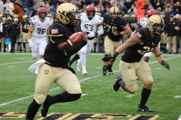 Army wrapped up its home schedule against Colgate on Nov. 17 at Michie Stadium at West Point, N.Y. The final score was Army 28-14. (Army)
