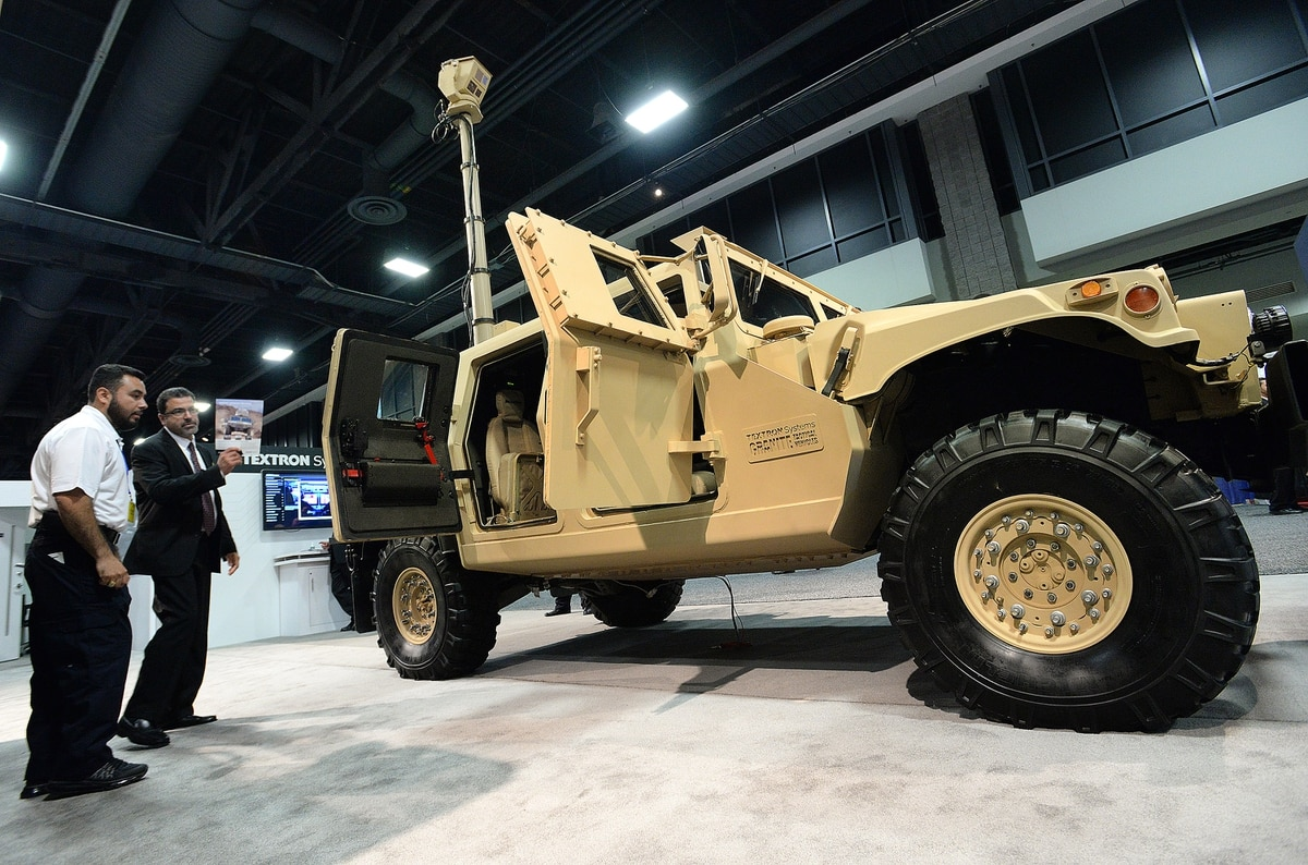 Textron Pitches Upgrade To Extend Life of Surplus Humvees
