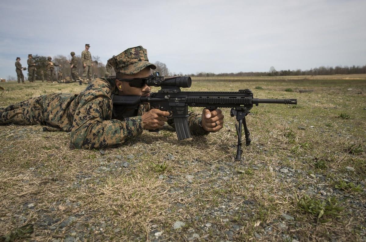 U.S. Recon Marines • M4 Assault Rifles Live-Fire • Norway