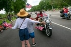 This is what it's like when Rolling Thunder invades Washington