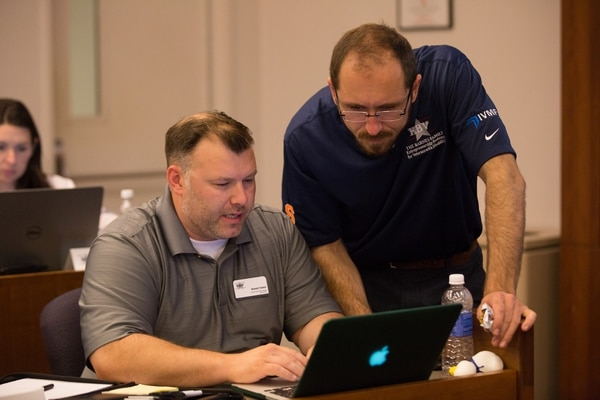 Entrepreneurship Boot Camp for Veterans with Disabilities (EBV): EBV is a collaborative program between IVMF and the Whitman School.