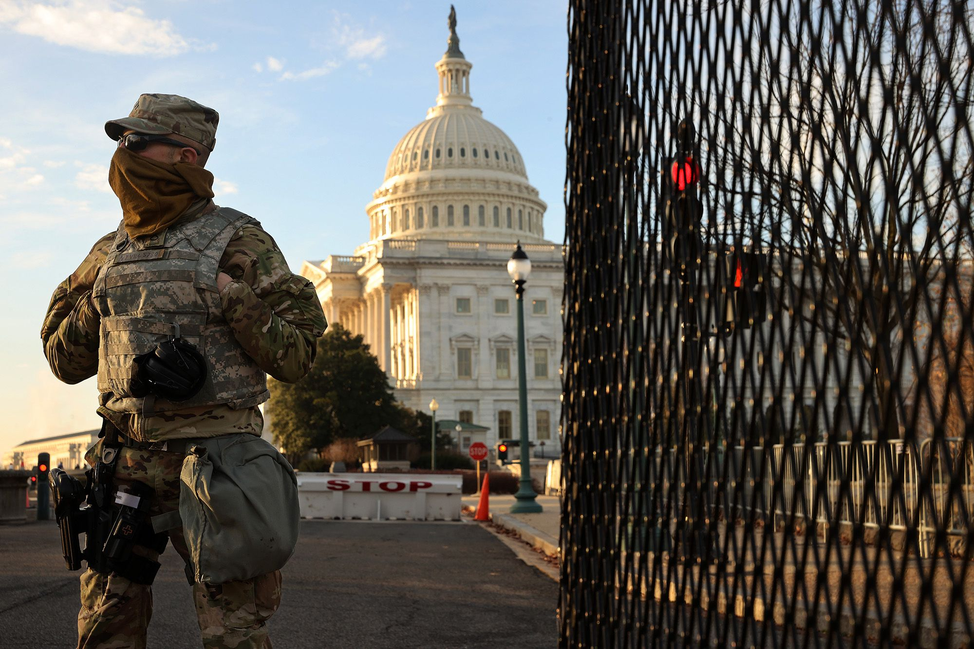 Up to 21,000 National Guard troops now authorized in DC for Biden inauguration