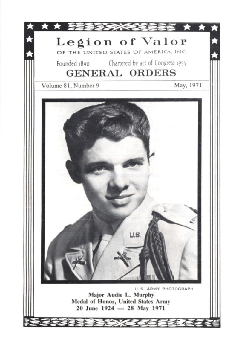 Audie Murphy died in a plane crash near Roanoke, Virginia, in 1971. (National Museum of American History, Smithsonian Institution)