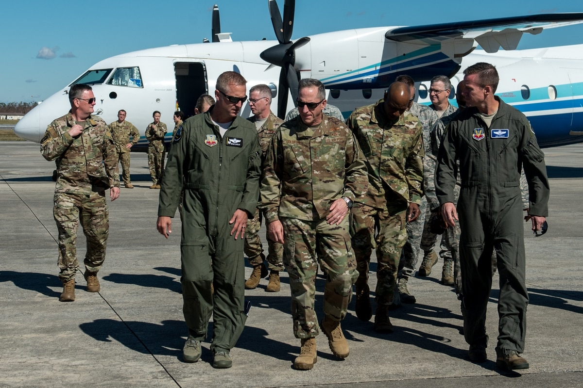 Tyndall Air Force Base officials going 'person by person' to