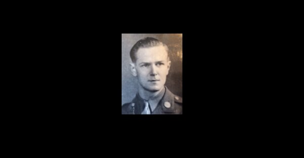 Army Air Forces Staff Sgt. John H. Canty, a gunner and engineer, was killed 16 days after D-Day when his B-26 Marauder was shot down just east of Caen, France. His body has been recovered by the Defense POW/MIA Accounting Agency. (Courtsey photo)