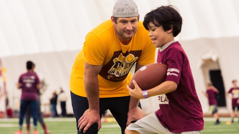 info for d9fad 59ee7 Washington Redskins host military youth for 'United in Play ...