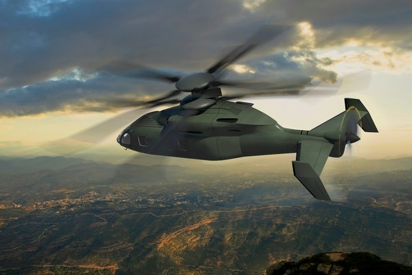 Sikorsky and Boeing have worked together on their offering for the U.S. Army's joint multi-role technology demonstrator called the SB-1 Defiant. (Photo courtesy of Boeing and Sikorsky)