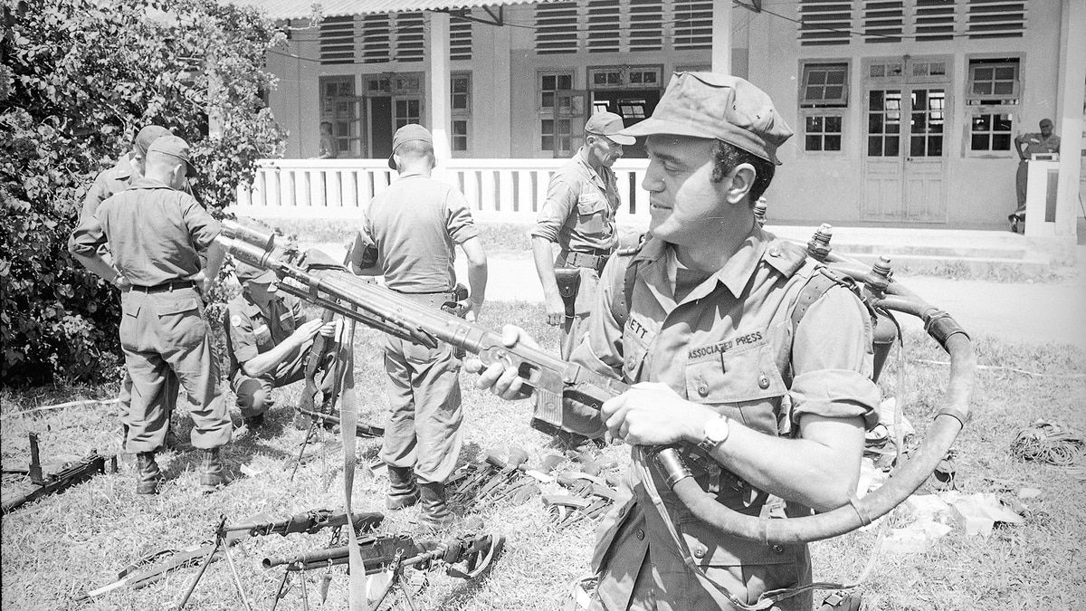 What happened in the Tet Offensive's first 36 hours