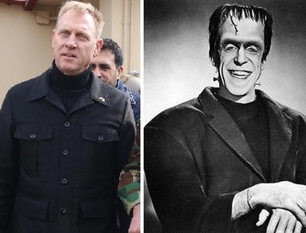 Could Shanahan have been paying tribute to Herman Munster?