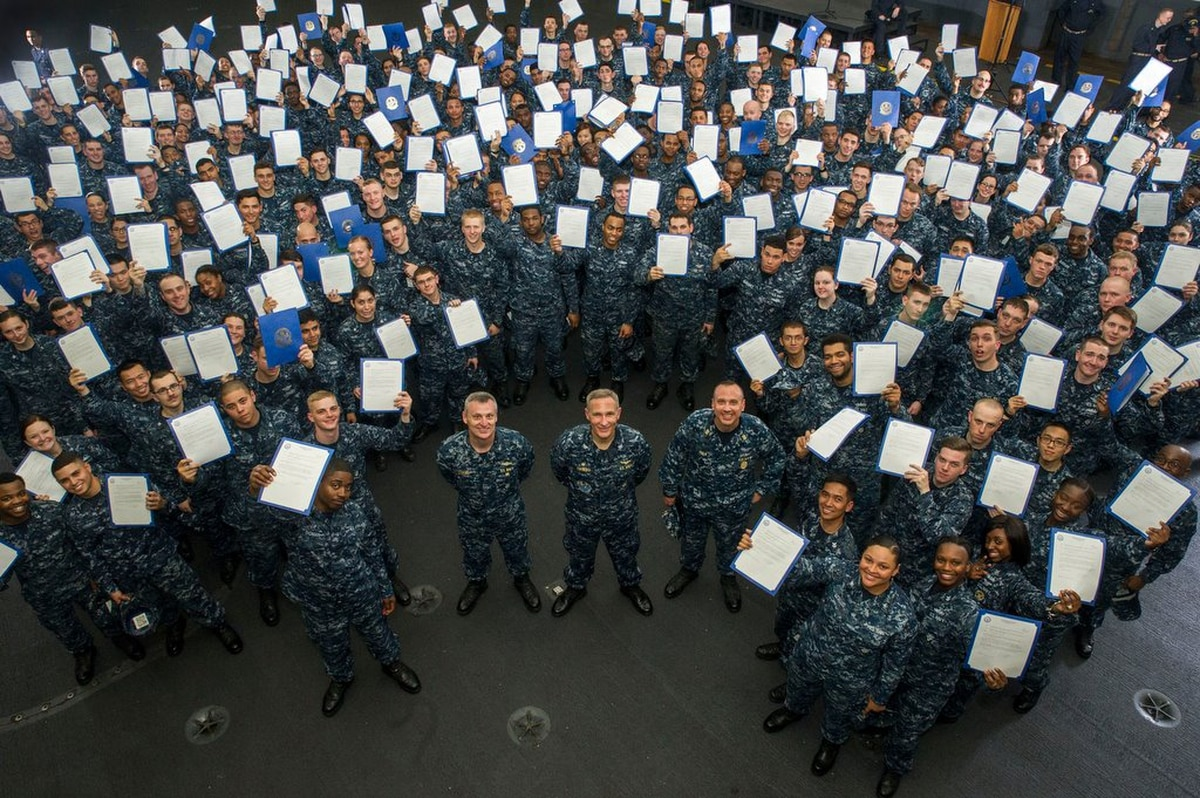 Best commands in the Navy to make rank