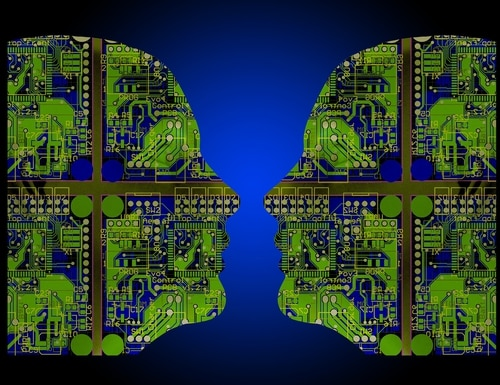 Artificial intelligence is often cited as dual-use technology — it can be adapted from the commercial market to serve military needs. (Many Wonderful Artists via flickr)