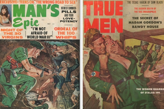 Examples of pulp magazines. (Courtesy of Gregory Daddis)