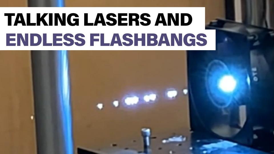 Pentagon scientists are making talking plasma laser balls
