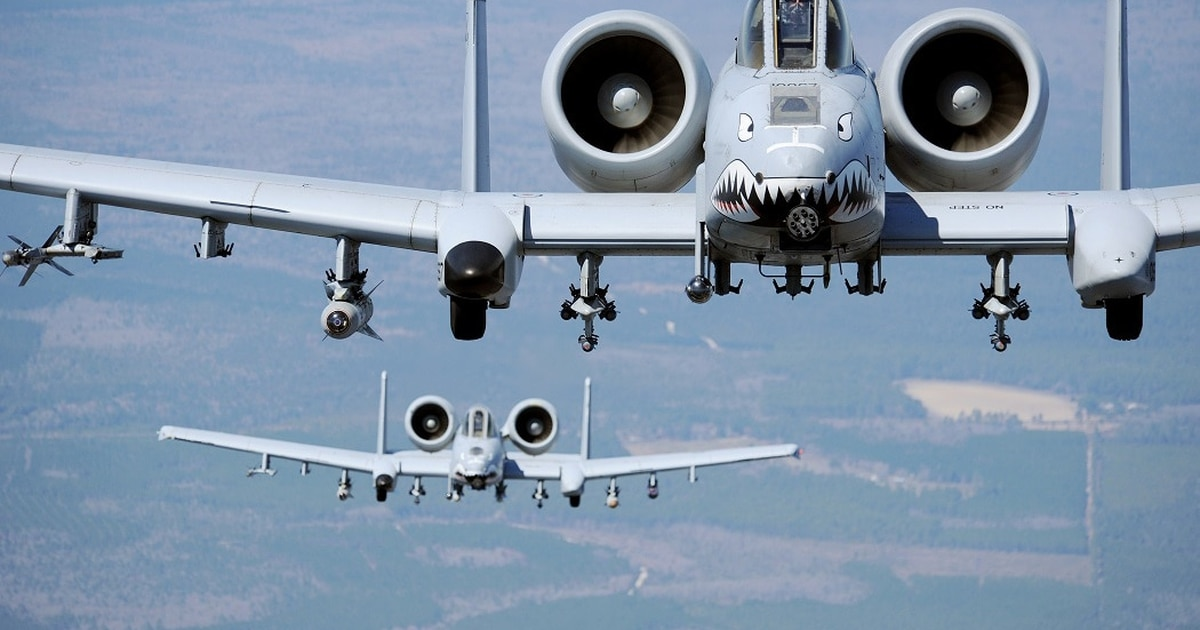 A-10 pilots receive Distinguished Flying Crosses for fierce Afghanistan battles