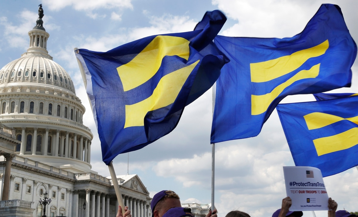 Two lawsuits filed challenging Trump's transgender military ban