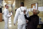 Navy's new dress white uniforms put on display at Recruit Training Command