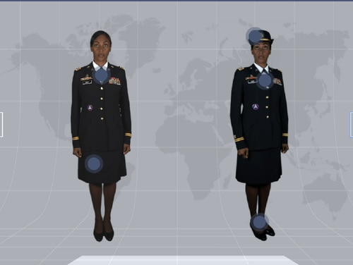 A new, interactive site breaks down Army uniforms and regulations. (Army)