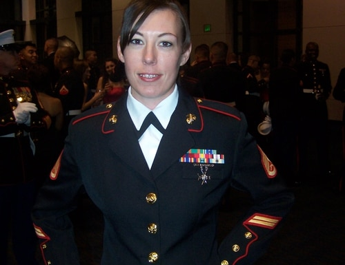 Former Marine Corps Staff Sgt. Elizabeth Perez has tried to get her husband back in the U.S. since his 2010 deportation. U.S. law forbids re-entry for 10 years after a deportation, which means the family can try for the first time next year to get Marcos Perez legal entry. (Contributed photo)