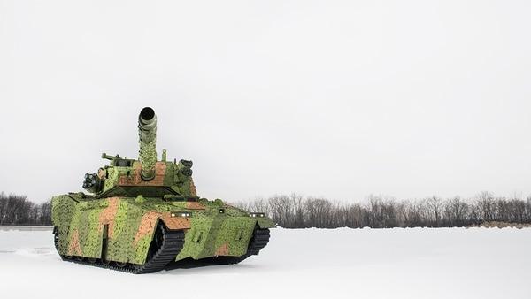 BAE System akan membangun Sistem Senjata Lapis Baja M8 Buford dengan kemampuan baru untuk prototipe kendaraan Mobile Protected Firepower Angkatan Darat. (Sistem BAE)