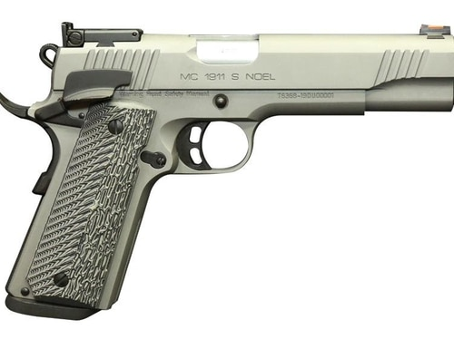 The new Girsan MC1911 Noel is a semi-custom 1911 from EAA developed with input from competitive shooter Noel Zarza
