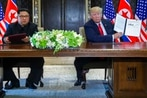Trump declares North Korea still poses 'extraordinary threat'