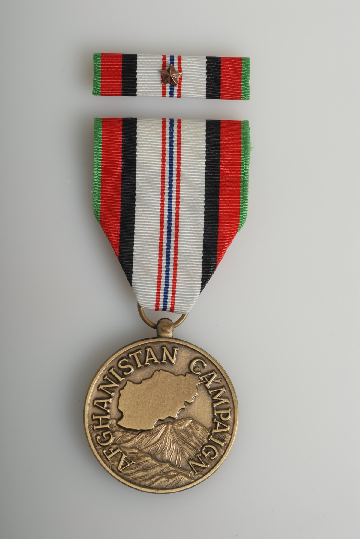 Rules for wearing service stars with Afghanistan Medal