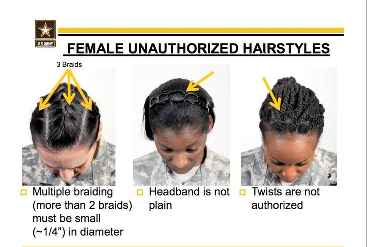 Army Releases New Rules For Tattoos And Hair