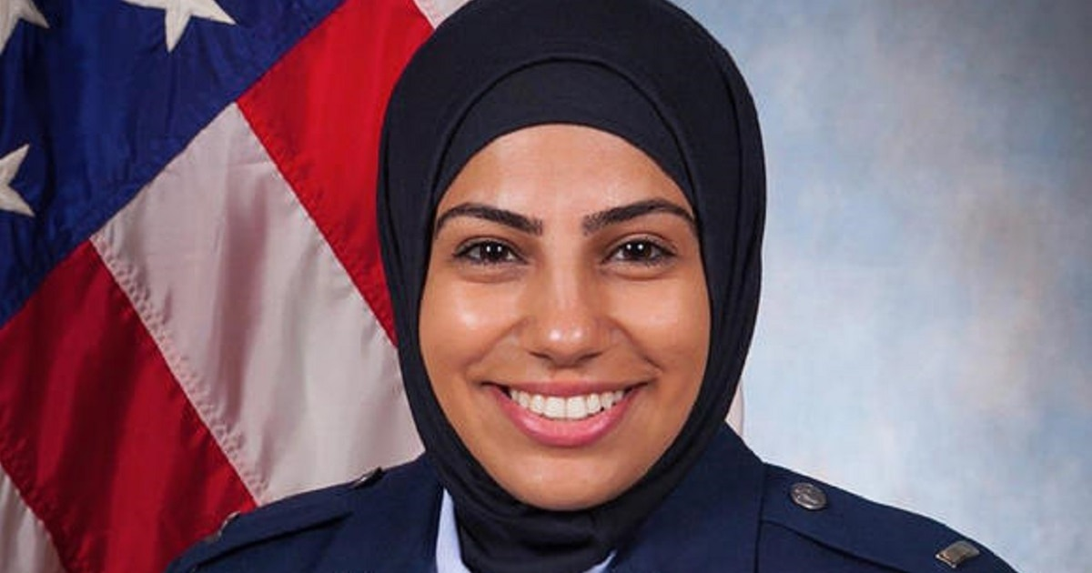 First Air Force JAG officer to wear hijab featured in short