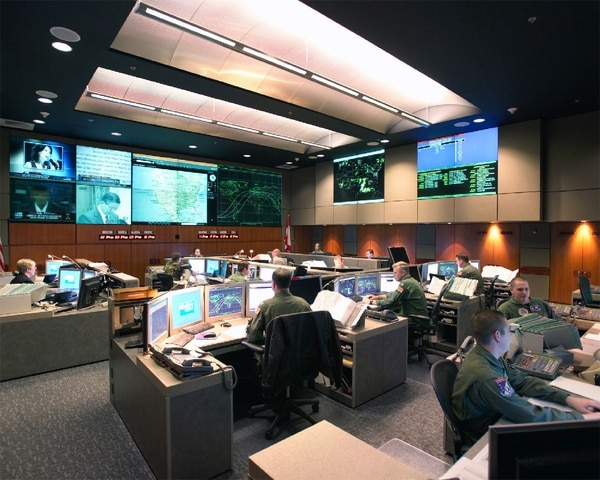 NORAD Command Center, Cheyenne Mountain, Colo. (Air Force)