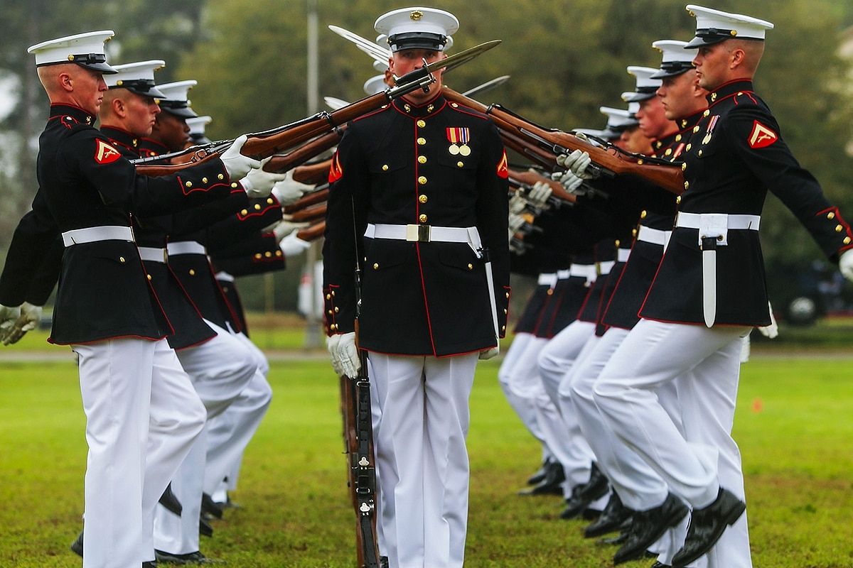 Marine Corps Silent Drill Platoon under investigation for hazing