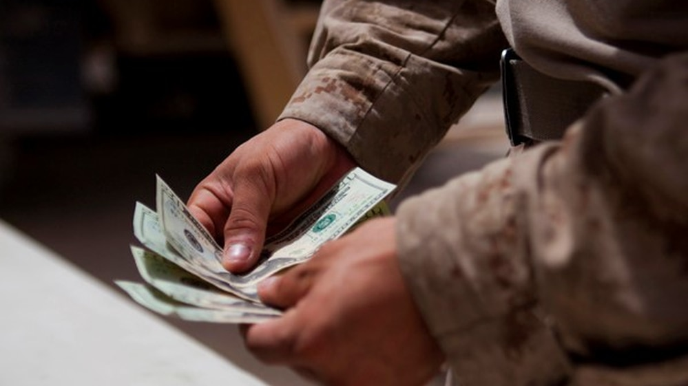 The blended retirement option empowers service members to take an active role in investing. (Cpl. Paul Peterson/Marine Corps)