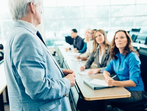 Federal employees' engagement with their work was driven in part by very high satisfaction with supervisors' management and support efforts. (Ferrantraite/Getty Images)