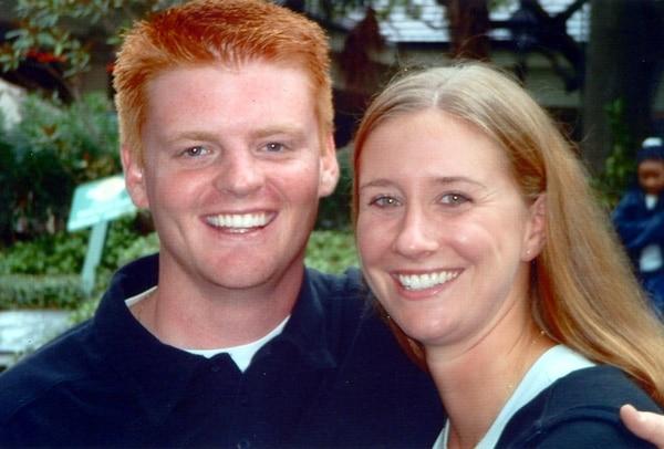 Senior Airman Andy Schliepsiek and his wife Jamie Schliepsiek, who were killed in 2004 at Robins Air Force Base