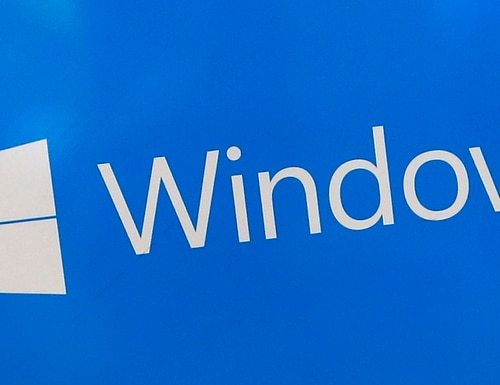 This Aug. 7, 2017, file shows a Microsoft Widows sign on display at a store in Hialeah, Fla. The National Security Agency has discovered a major security flaw in Microsoft's Windows operating system. Microsoft says the NSA notified the company about it. A fix was made available Tuesday, Jan. 14, 2020. (Alan Diaz/AP)