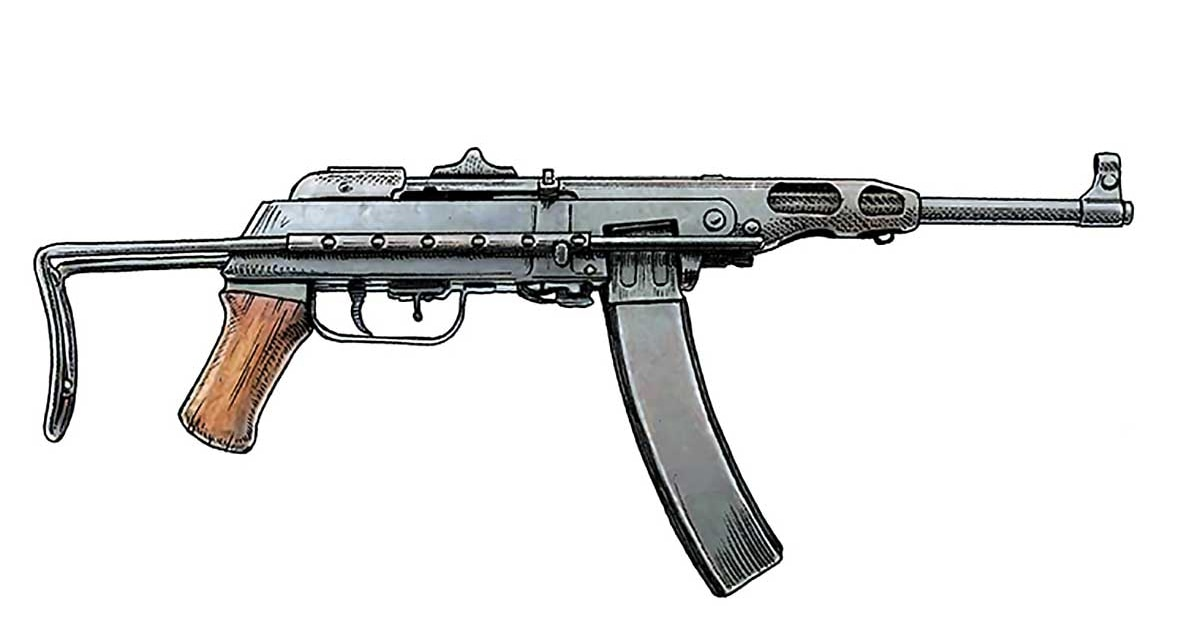 How the North Vietnamese army modified a WW2 submachine gun for its war against the US