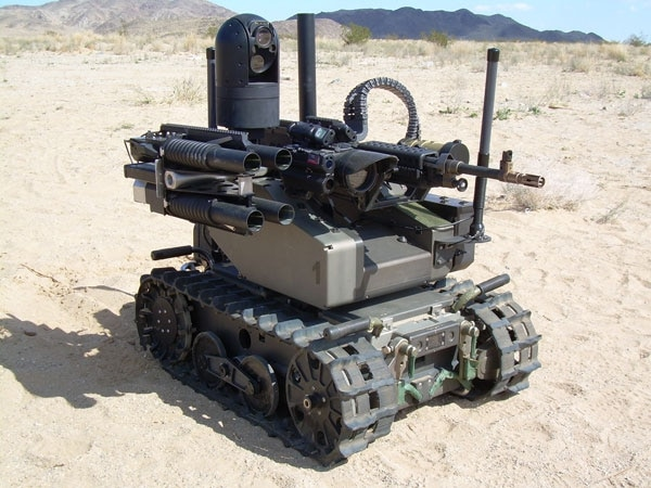 Modular Advanced Armed Robotic System QinetiQ North America image