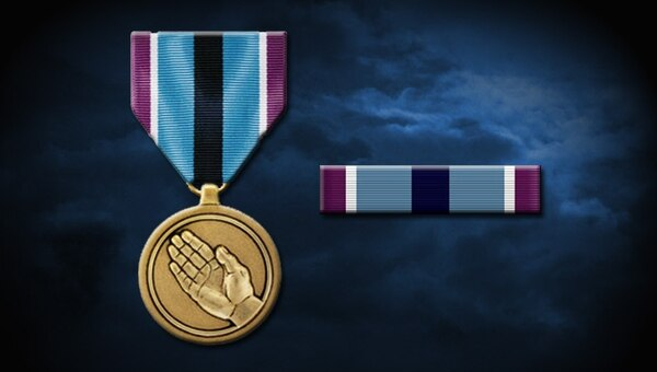 The Humanitarian Service Medal. (Air Force)